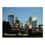 Downtown of Minneapolis, Minnesota Postcard