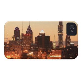 Downtown Philadelphia, Pennsylvania at sunset Case-Mate iPhone 4 Case