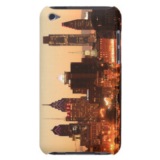 Downtown Philadelphia, Pennsylvania at sunset iPod Case-Mate Cases