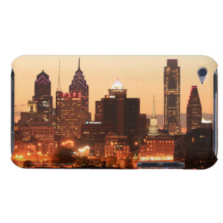 Downtown Philadelphia, Pennsylvania at sunset iPod Touch Covers