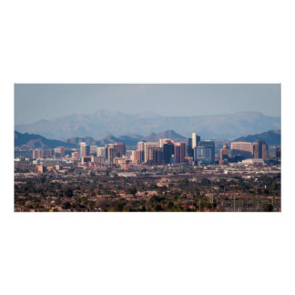 Downtown Phoenix Arizona Poster