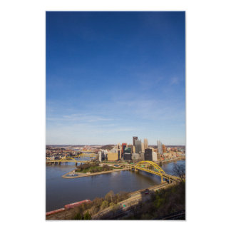 Downtown Pittsburgh, Pennsylvania Poster