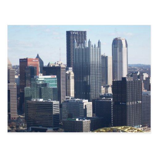 Downtown Pittsburgh Postcard