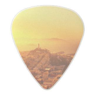 Downtown San Francisco, CA Acetal Guitar Pick