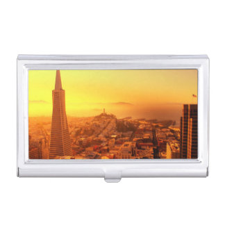 Downtown San Francisco, CA Business Card Holder