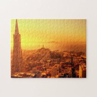 Downtown San Francisco, CA Jigsaw Puzzle