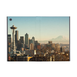 Downtown Seattle skyline and Space Needle Case For iPad Mini
