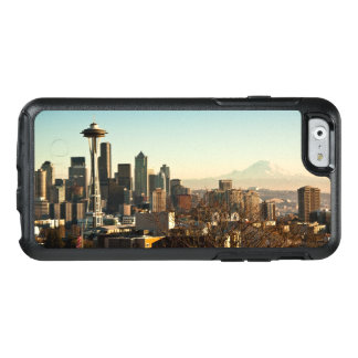 Downtown Seattle skyline and Space Needle OtterBox iPhone 6/6s Case