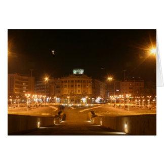 Downtown Skopje Greeting Card