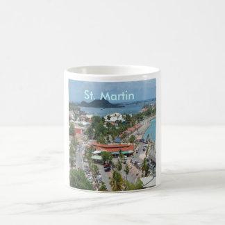 Downtown St. Martin Basic White Mug