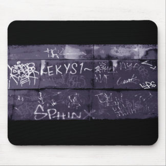 Downtown Street art Mouse Pad