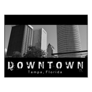 Downtown Tampa Poster