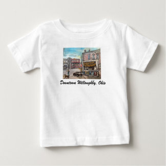 Downtown Willoughby Dog Walk Children's T-Shirt