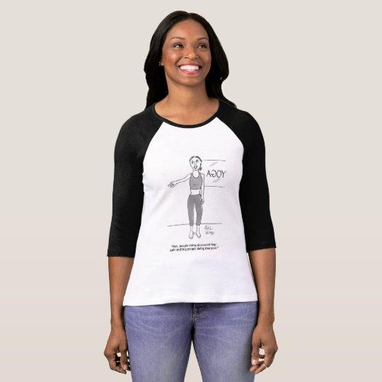 Downward dog. T-Shirt