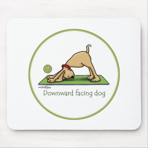 Downward Facing Dog Cartoon