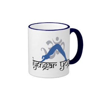 Downward Facing Dog Iyengar Yoga Coffee Mug
