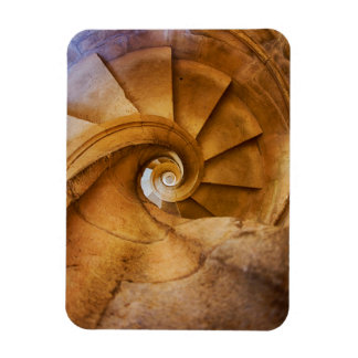 Downward spirl staircase, Portugal Magnet