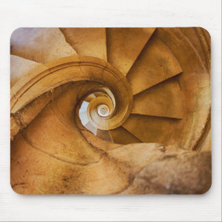 Downward spirl staircase, Portugal Mouse Mat