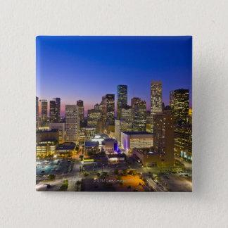 Dowtown Houston 15 Cm Square Badge