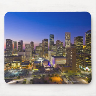 Dowtown Houston Mouse Pad