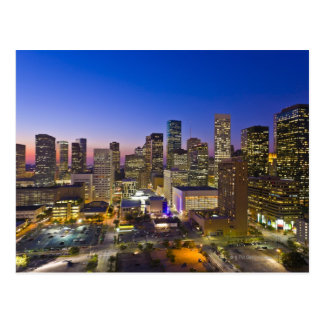 Dowtown Houston Postcard