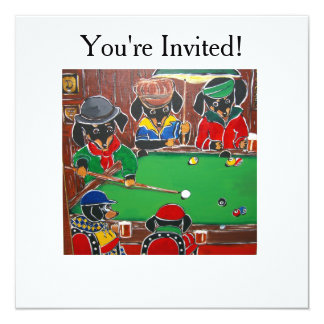 DOXIE BILLIARDS CARD