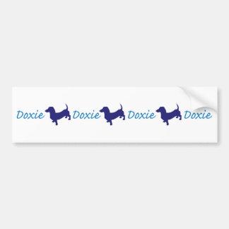 Doxie/Dachshund Bumper Sticker