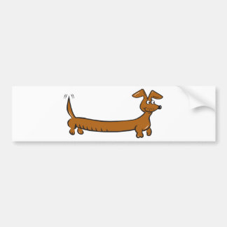 Doxie Dachshund Bumper Sticker