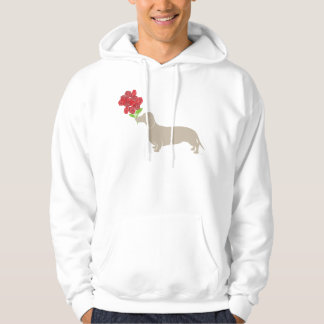 Doxie Delivers 12 Red Roses - Valentines Day!!!! Pullover