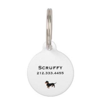 Doxie Dog Love - Cute Little Dachshund Pet ID Tags