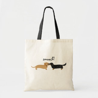 Doxie Smooch Tote Bag