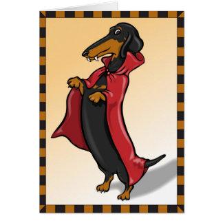 Doxula Halloween Card