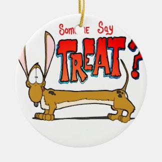 Doxy Treat Christmas Tree Ornament