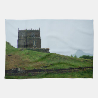 Doyden Castle Port Quin Cornwall Dwight Enys House Tea Towel