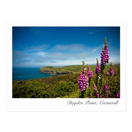 Doyden Point, Cornwall Postcard