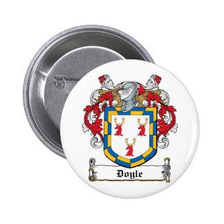 Doyle Family Crest 6 Cm Round Badge