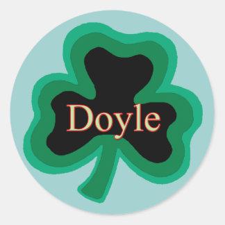Doyle Family Round Sticker