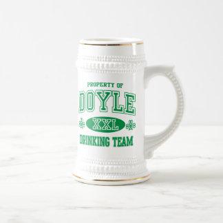 Doyle Irish Drinking Team Beer Steins