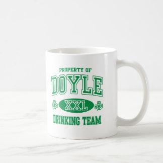 Doyle Irish Drinking Team Mugs