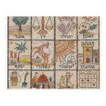 Doze Tribos de Israel Postcard