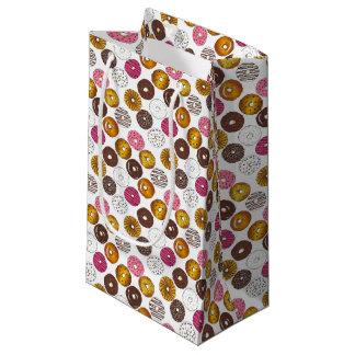 Dozen Donuts Doughnuts Breakfast Junk Food Foodie Small Gift Bag