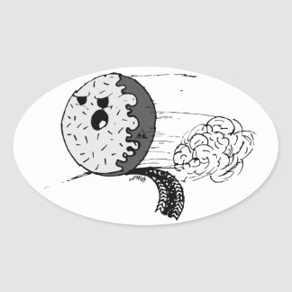 Dozen Oval Sticker
