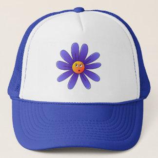 Dozy Daisy in Blue Trucker Hat