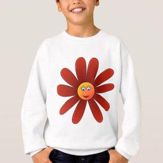 Dozy Daisy Red Sweatshirt