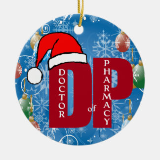 DPM SANTA CHRISTMAS ORNAMENT DOCTOR PHARMACY