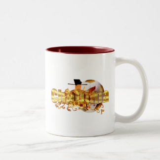 DPRK Chollima soccer players and coaches gear Two-Tone Mug