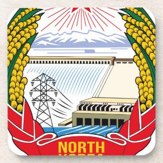 DPRK (North Korea) Emblem Beverage Coaster