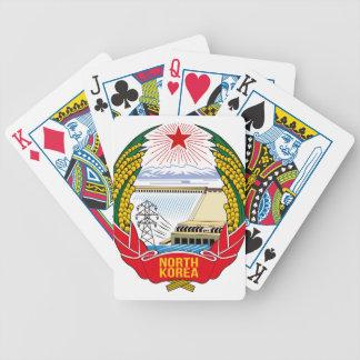 DPRK (North Korea) Emblem Card Decks