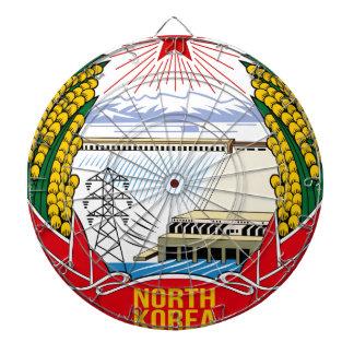 DPRK (North Korea) Emblem Dart Boards