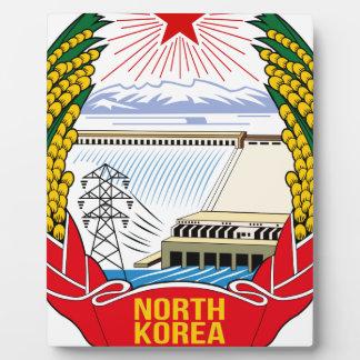 DPRK (North Korea) Emblem Display Plaque